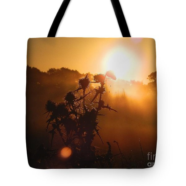 Sun Up Tote Bag