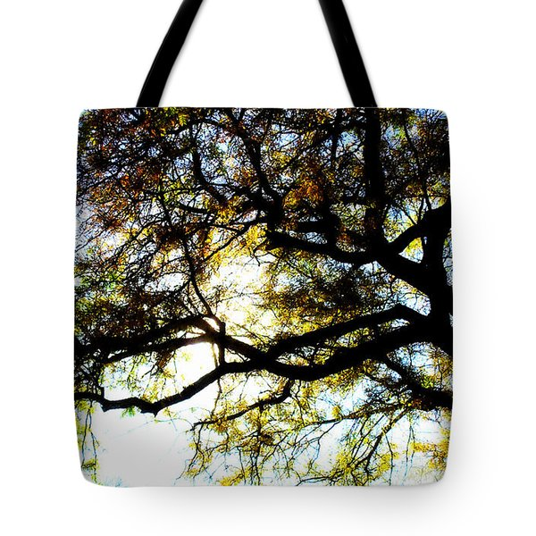 Sunday Afternoon Tote Bag by Julie Hamilton