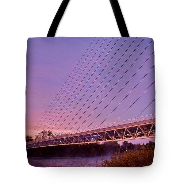 Sundial Bridge Tote Bag