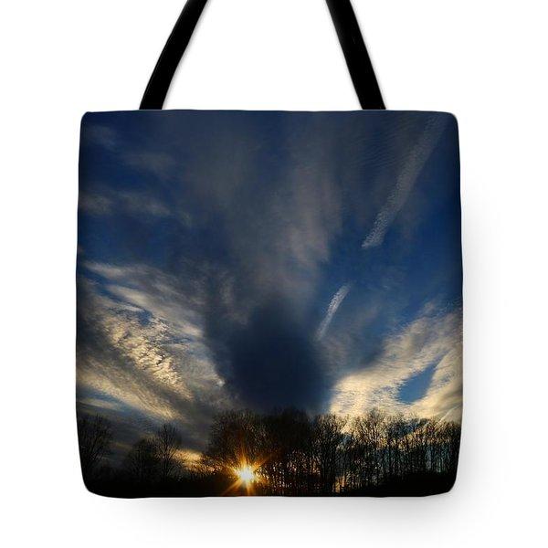 Sundown Skies Tote Bag