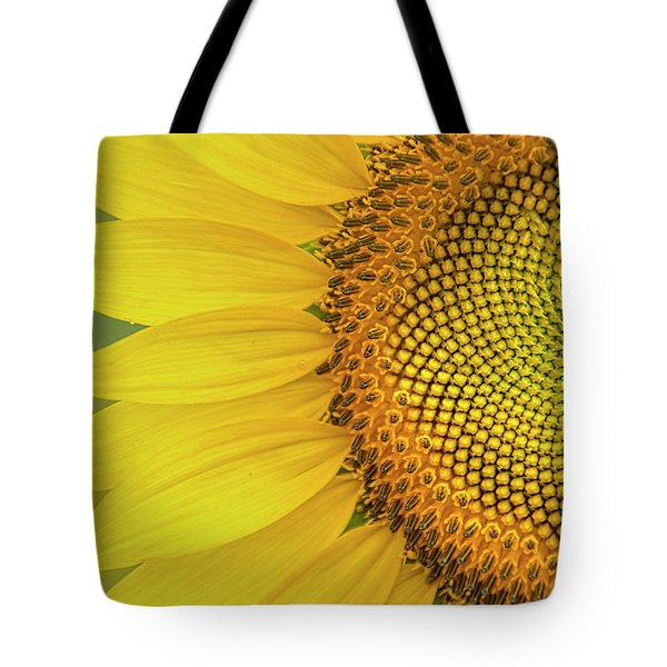 Sunflower Petals Tote Bag