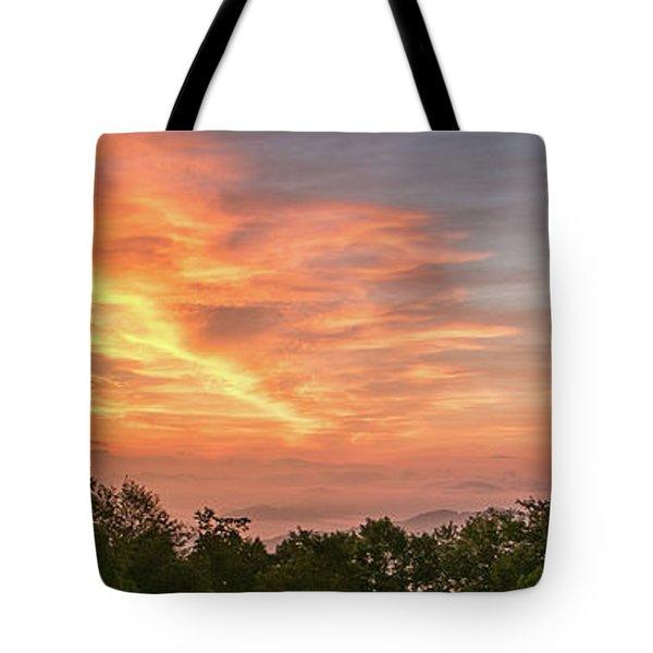 Sunrise July 22 2015 Tote Bag