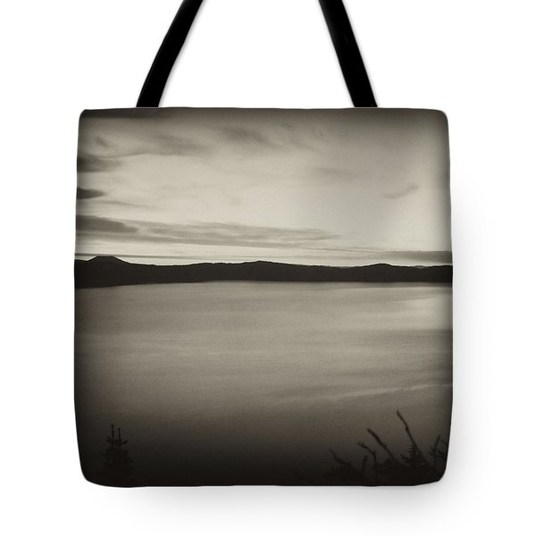 Tote Bag featuring the photograph Sunrise On Crater Lake by Hugh Smith