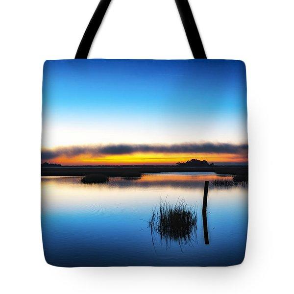 7 Am E.s.t. - Sunrise Sunset Image Art  Tote Bag