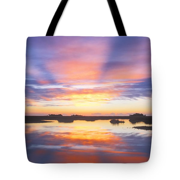 Sunrise Sunset Image Art - Monday Monday Tote Bag