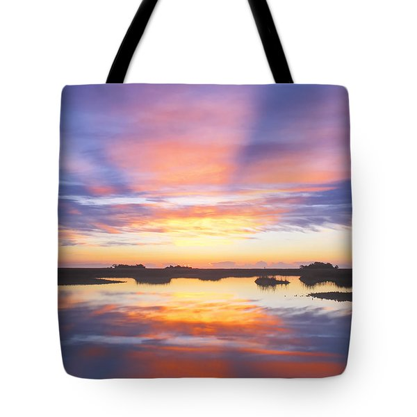 Sunrise Sunset Image Art - Monday Monday Tote Bag