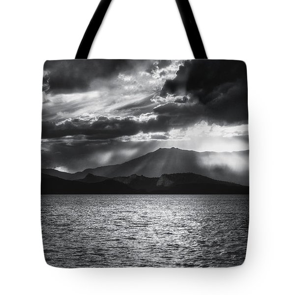 Tote Bag featuring the photograph Sunset by Hayato Matsumoto