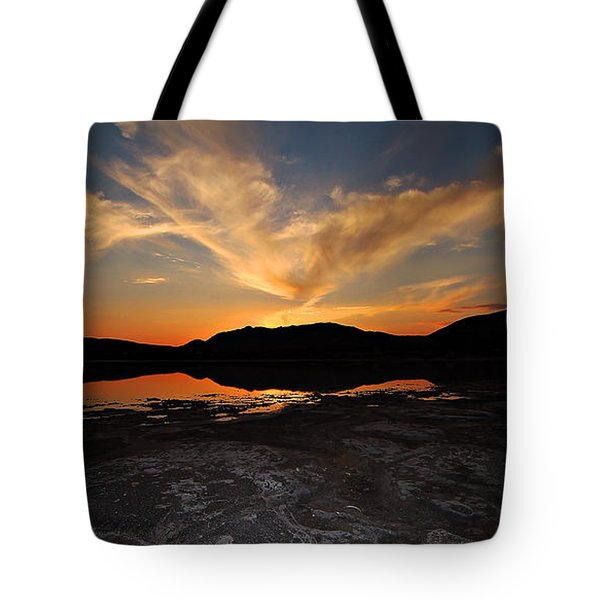 Sunset In Sardinia Tote Bag