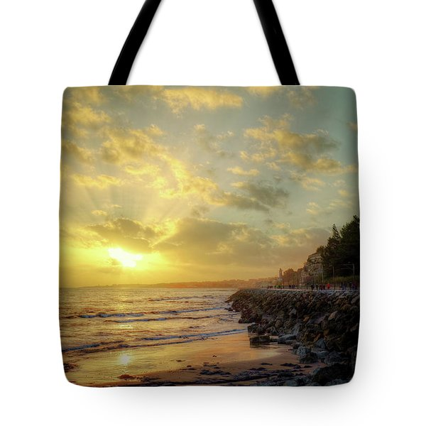 Tote Bag featuring the photograph Sunset In The Coast by Carlos Caetano