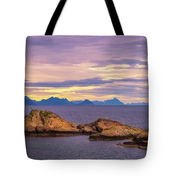 Sunset In The North Tote Bag