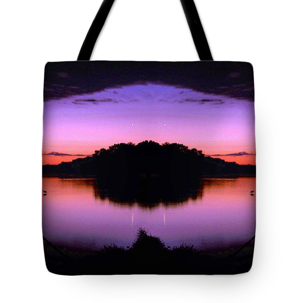 Sunset Kiss Tote Bag by Sue Stefanowicz