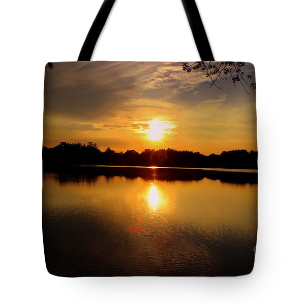 Sunset  Silver  Lake  Wilmington Tote Bag