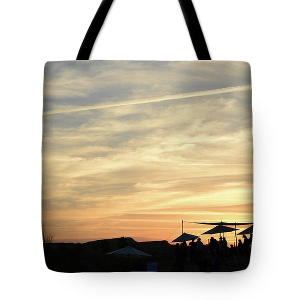 Sunset View Tote Bag