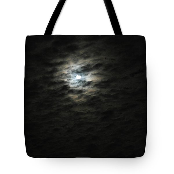 Tote Bag featuring the photograph super moon II by Irma BACKELANT GALLERIES
