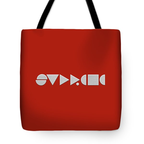Supreme Being Embroidered Abstract - 2 Of 5 Tote Bag