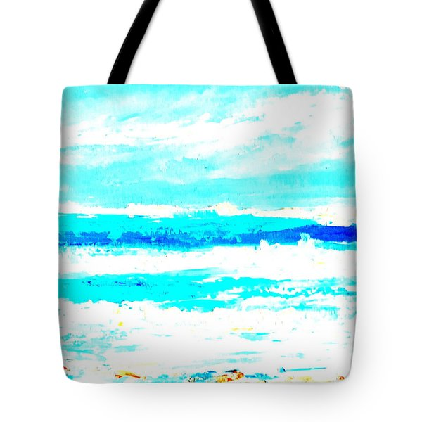 Surf Tote Bag by Fred Wilson