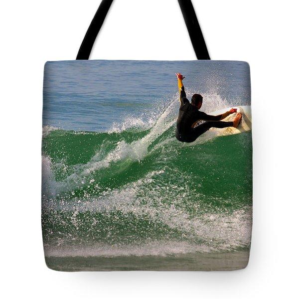 Surfer Tote Bag by Carlos Caetano