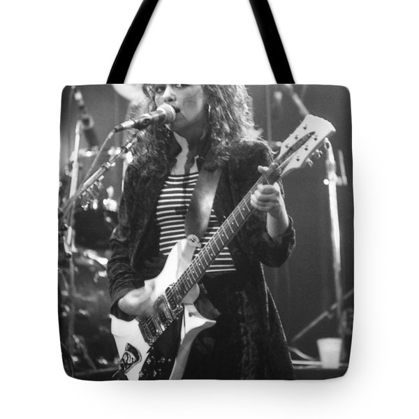 Susanna Hoffs Tote Bag by David Plastik