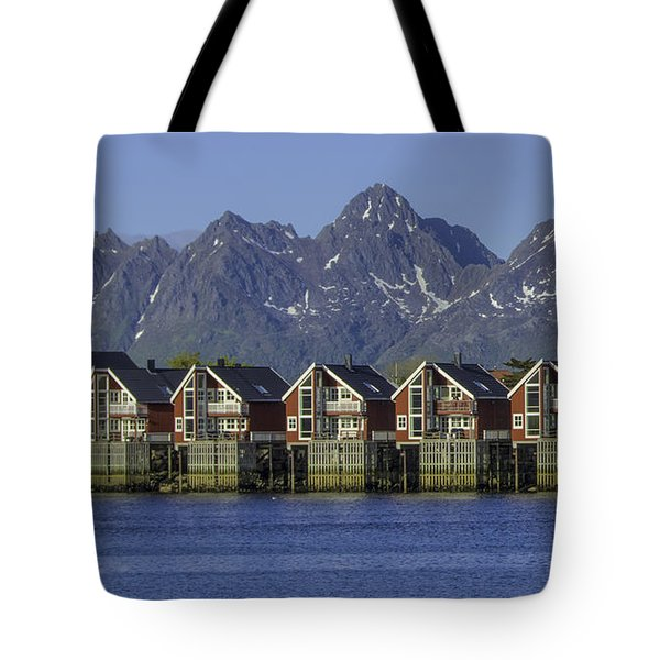 Svolvaer Norway Tote Bag