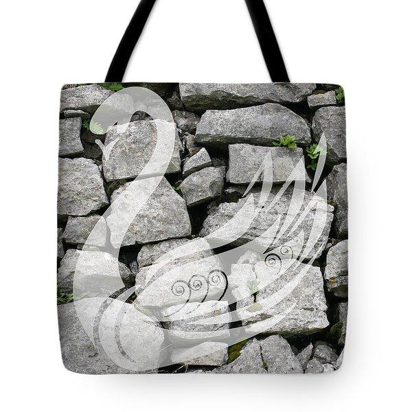 Swan Art Tote Bag