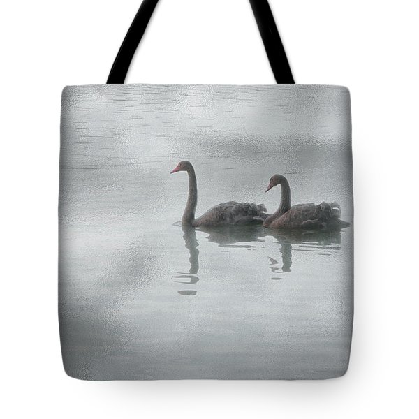 Swan Lake Tote Bag by Carolyn Dalessandro