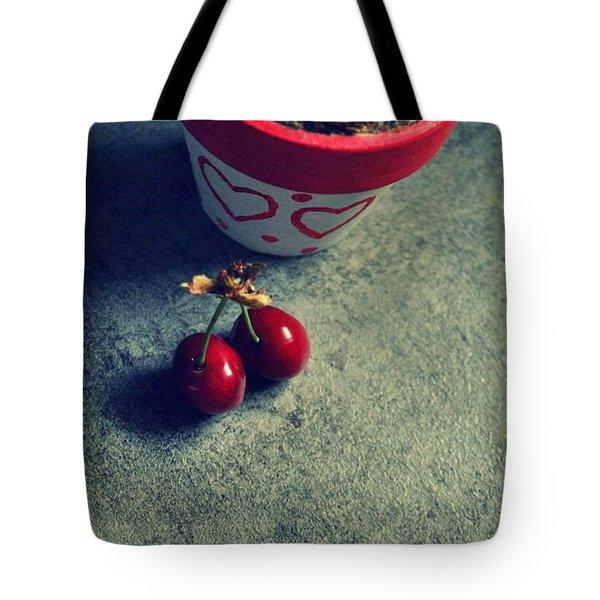 Sweet Couple Tote Bag