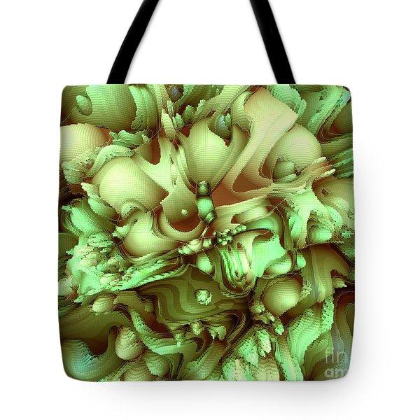 Sweet Flowers Tote Bag by Moustafa Al Hatter