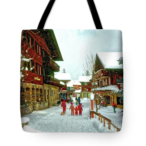 Switzerland Alps Tote Bag