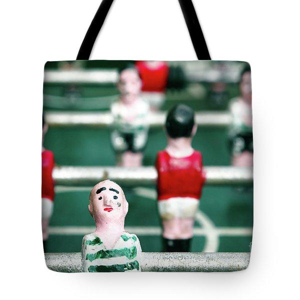 Table Soccer Tote Bag by Gaspar Avila