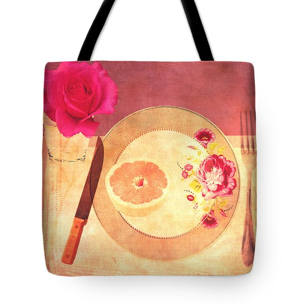 Tablescape Tote Bag by Lisa Noneman
