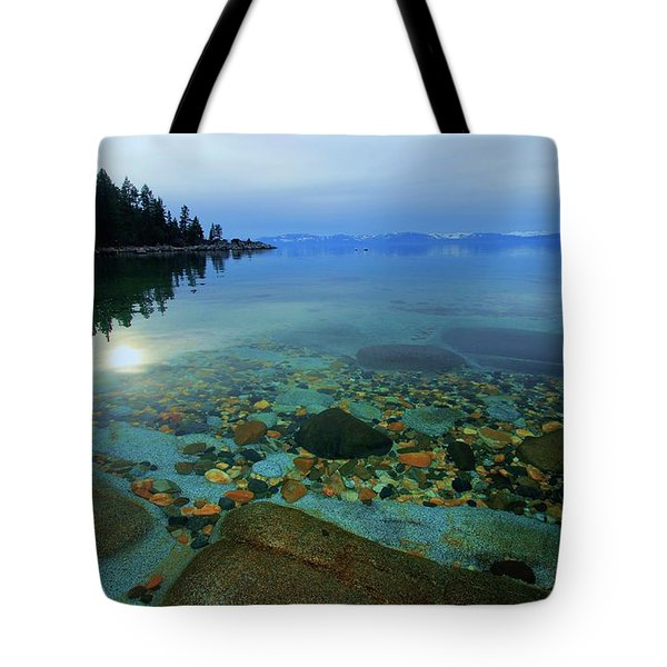 Tahoe Twilight Tote Bag