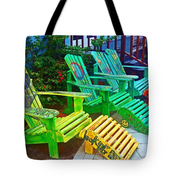 Take A Break Tote Bag by Debbi Granruth