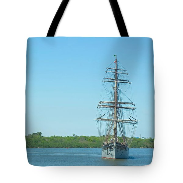 Tall Ship Elissa Tote Bag