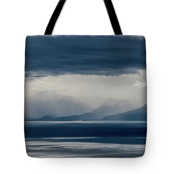 Tallac Stormclouds Tote Bag