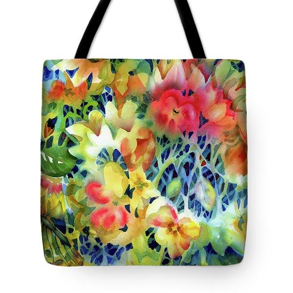 Tangled Blooms Tote Bag