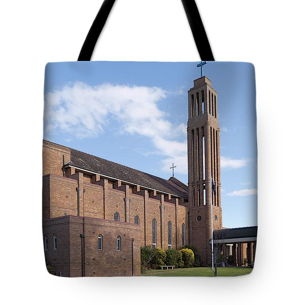 Tote Bag featuring the photograph Taree Church 01 by Kevin Chippindall