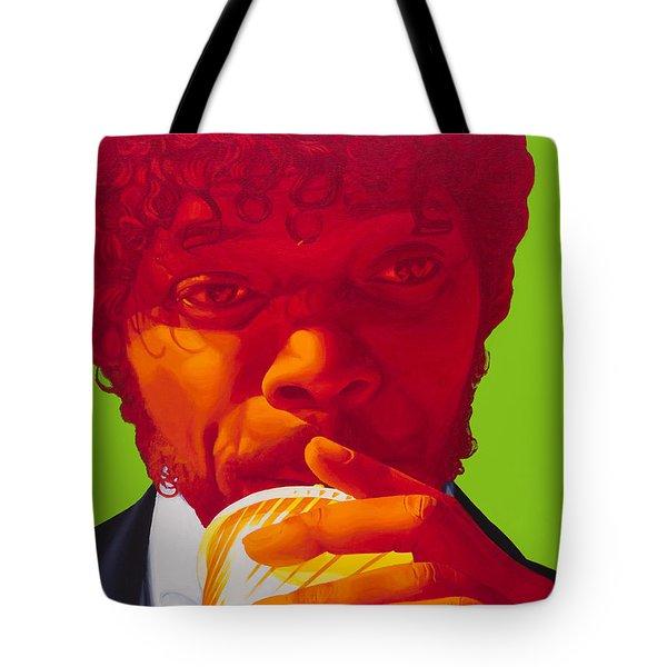 Tasty Beverage Tote Bag by Ellen Patton