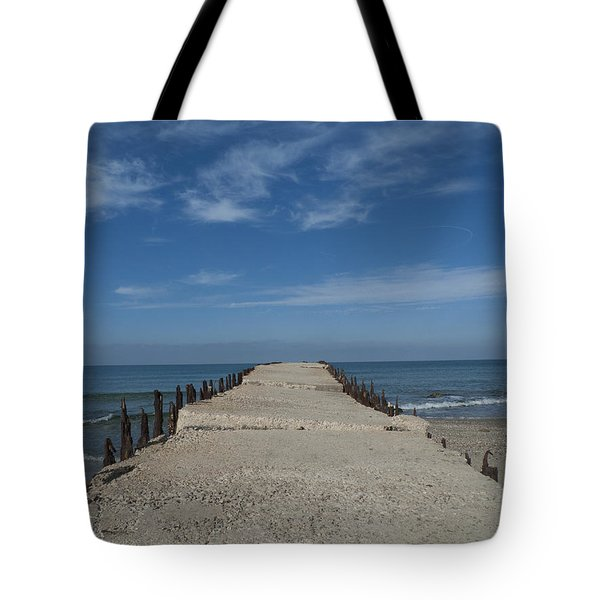 Tel Aviv Old Port 3 Tote Bag