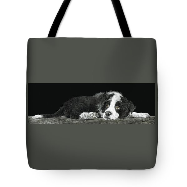 Tell Me More About Sheep Tote Bag