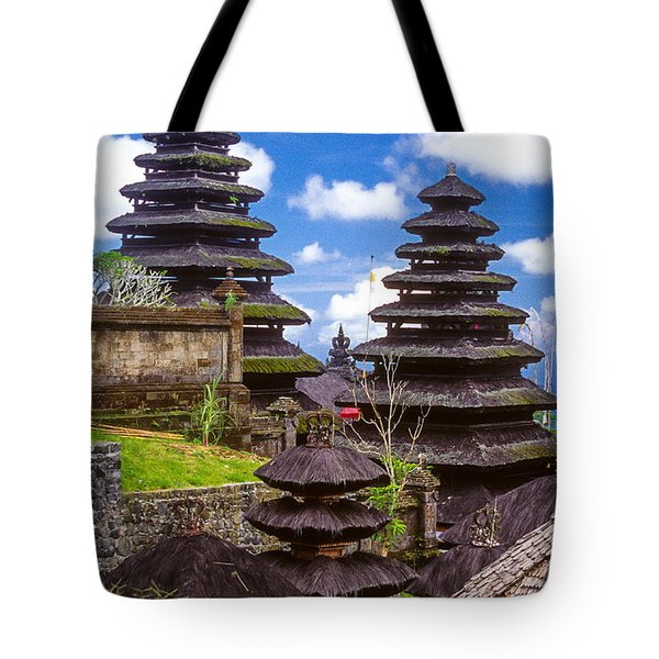 Temple City Tote Bag