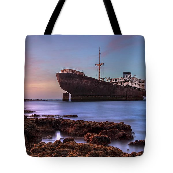 Temple Hall - Lanzarote Tote Bag