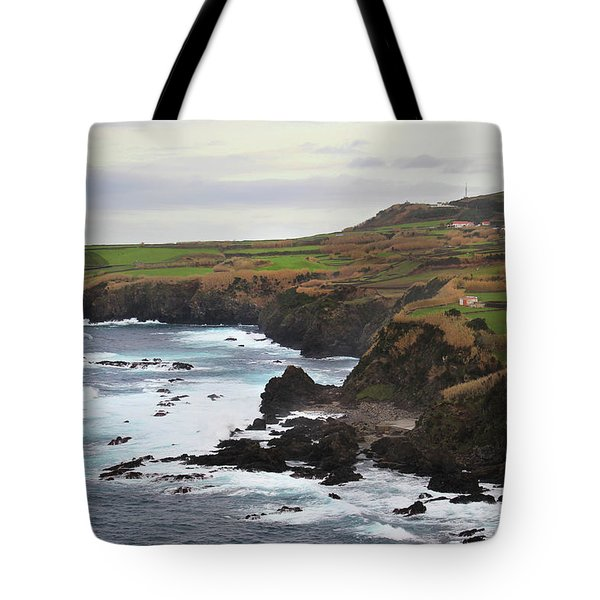 Terceira Coastline Tote Bag