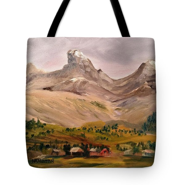 Tetons From The West Tote Bag