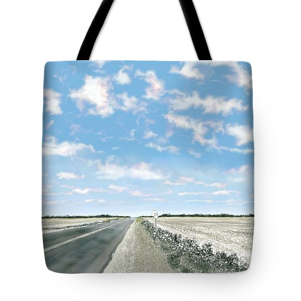 Texas 36 Tote Bag by Kerry Beverly