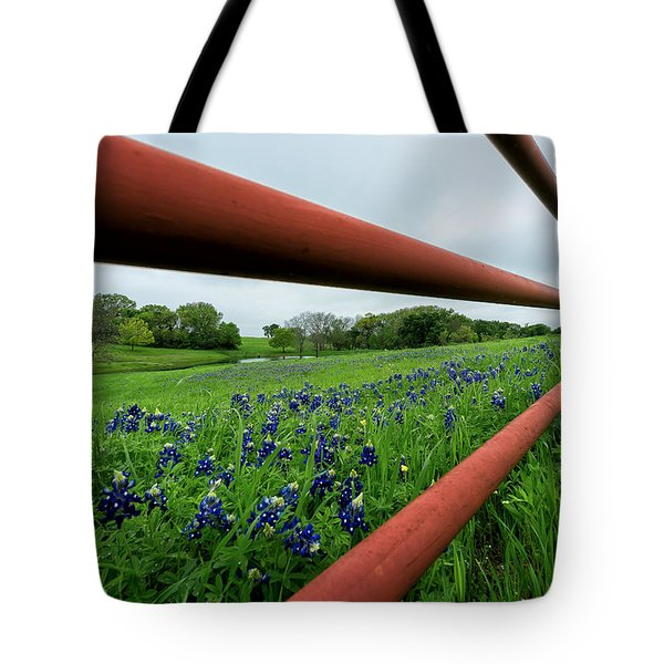 Texas Bluebonnets In Ennis Tote Bag