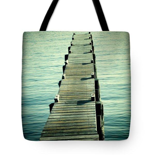 Texas Gulf Coast Pier II Tote Bag