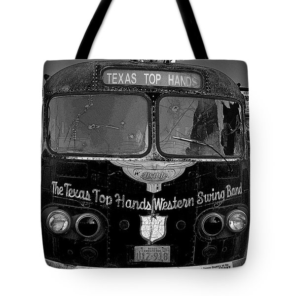 Texas Top  Hands Tote Bag