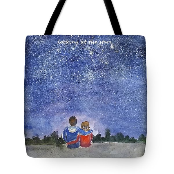 Tote Bag featuring the painting Thank You Love by Geeta Biswas