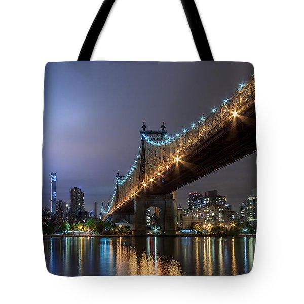 The 59th St Bridge  Tote Bag
