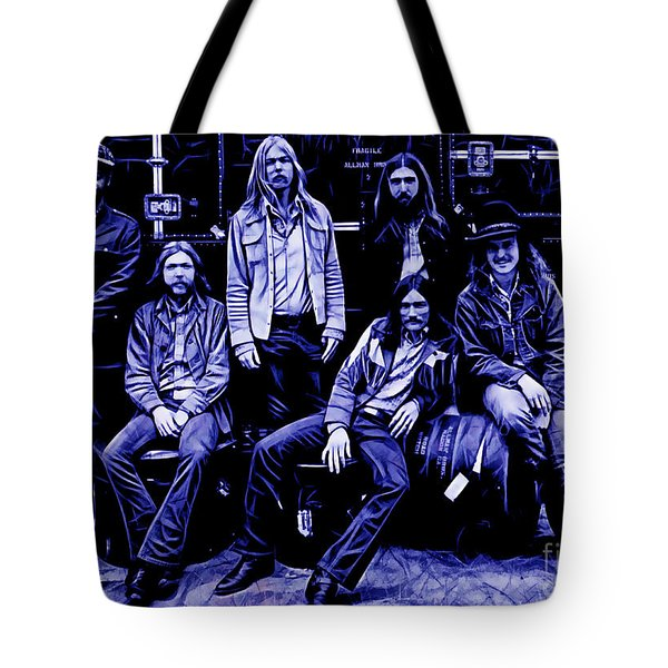 The Allman Brothers Collection Tote Bag by Marvin Blaine